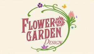 Sigla flower-garden Logo